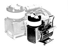 First corrosion-resistant diaphragm pump